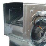 Aggraffatura chiocciola di un ventilatore industriale prodotto in serie