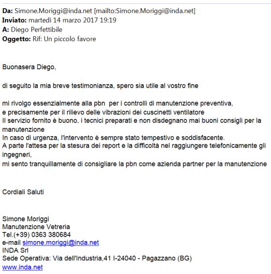 Opinioni ventilazione sicura Simone Moriggi