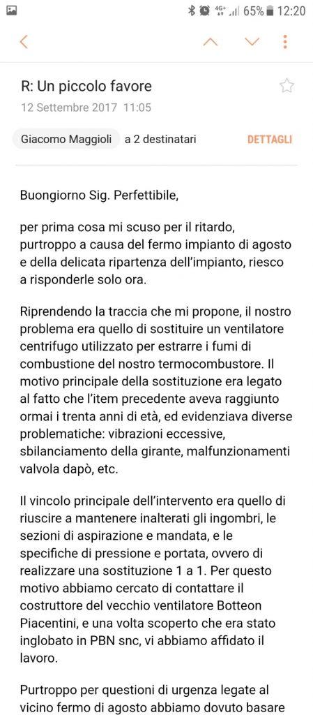 opinione ventilazione sicura Giacomo Maggioli