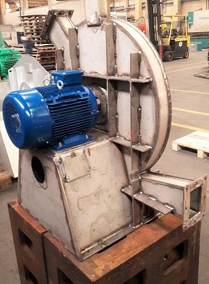 ventilatore centrifugo alta pressione