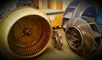 ventilatore centrifugo esempi di girante