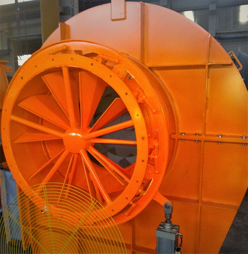 pompaggio ventilatori industriali serranda dapò in aspirazione
