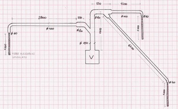 Calcolo perdite di carico impianto di aspirazione