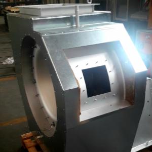 coibentazione ventilatori industriali particolare apertura portina ispezione